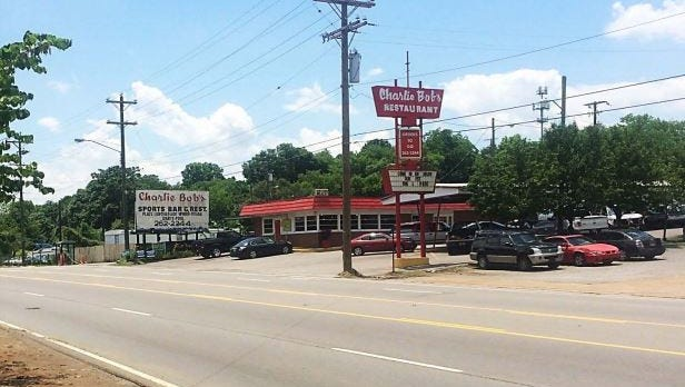 The Douglas family has operated Charlie Bob's restaurant on Dickerson Pike for 44 years.
