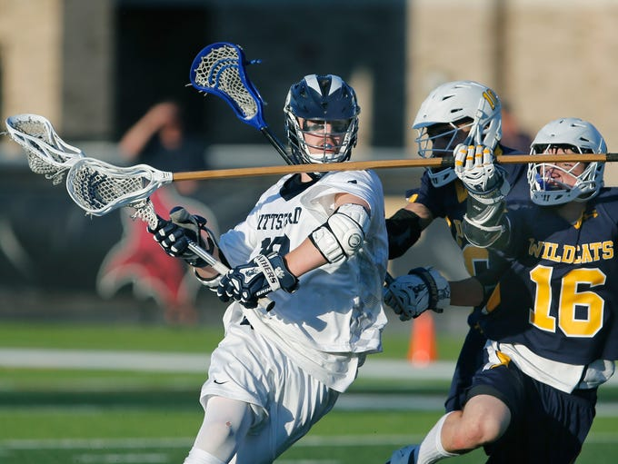 LAX Class A boys: Pittsford's Brandon Barker brings