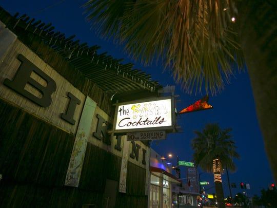 Bikini Lounge on Grand Avenue is a longtime neighborhood