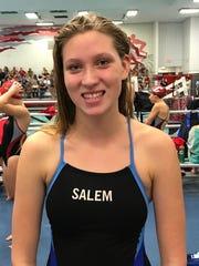 Lauren Branford, a Salem junior, said it's nice that