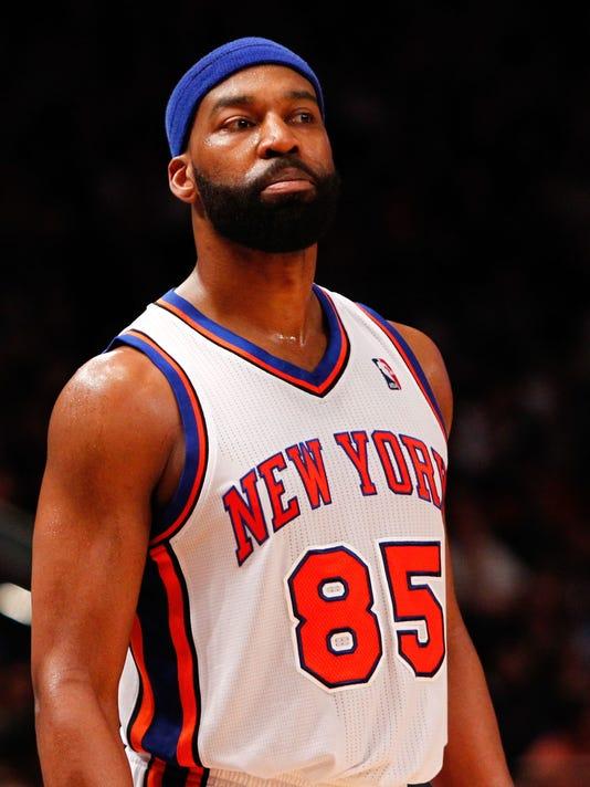 NBA: Playoffs-Miami Heat at New York Knicks