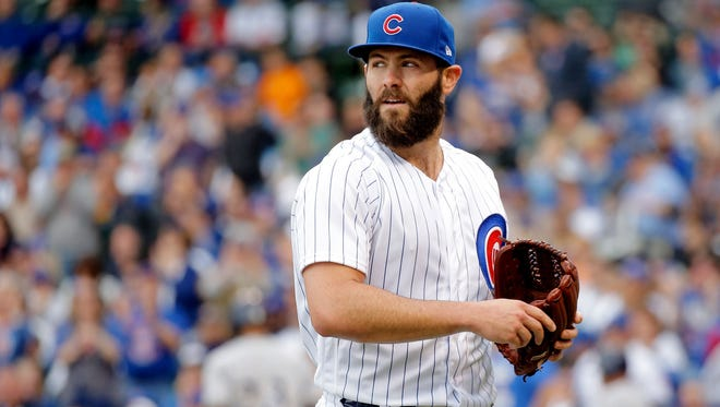 Jake Arrieta is among the handful of big-name free-agent pitchers on the market.