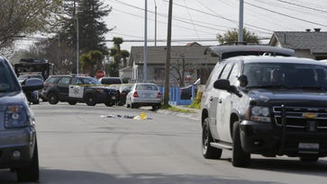 Salinas police respond to a shooting where one person was critically injured.