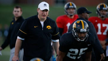Brian Ferentz swipes at recruiting rivals on 'HawkCentral' podcast