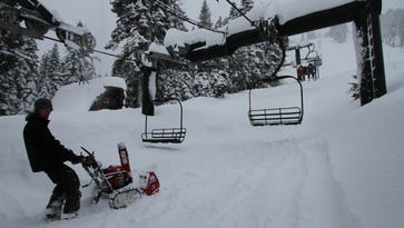 Tahoe-area ski resorts open ... if you can get there