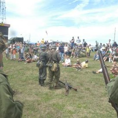 The Iola Vintage Military and Gun show gathers around 8,000 people each year.