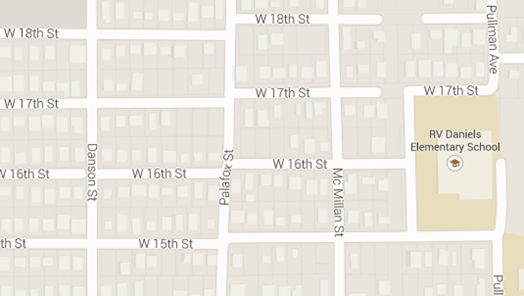 The area in northwest Jacksonville where the shooting