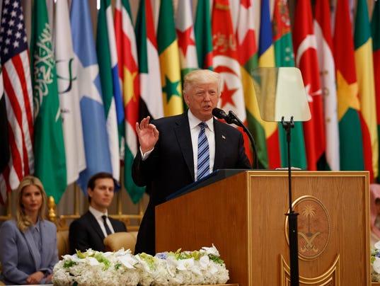 AP TRUMP US SAUDI ARABIA I SAU