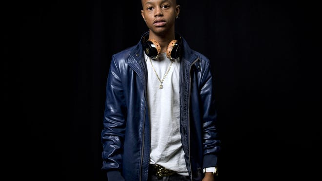 In this July 21, 2015 photo, rapper Silento poses for a portrait in New York.