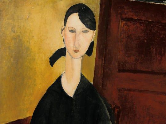 Amedeo Modigliani, Portrait de Paulette Jourdain, Circa 1919 Estimate $25/35 million