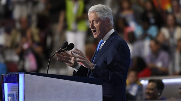 Bill Clinton talks about the first time he met Hillary