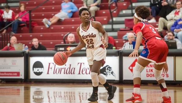 DeLise Williams, No. 22, senior guard, Florida Tech women's basketball.