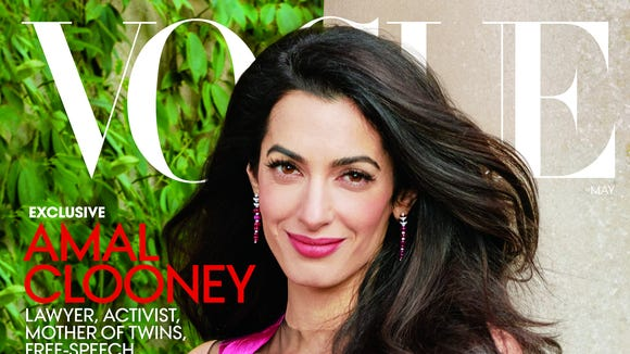 Amal Clooney's 'Vogue' cover