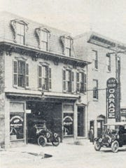 The National Auto Company was at 68 W. Market St. in 1910. This building still stands, but it has been remodeled.