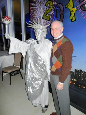 Candy Stoddard (Lady Liberty) and Mitch Blumberg.