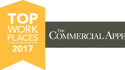 Top Workplaces Memphis 2017 logo.