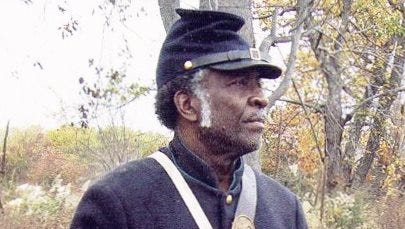 Historical interpreter Willis Phelps will portray Pvt. James H. Elbert, a member of the U.S. Colored Troops, in an interactive program next month in Dover.