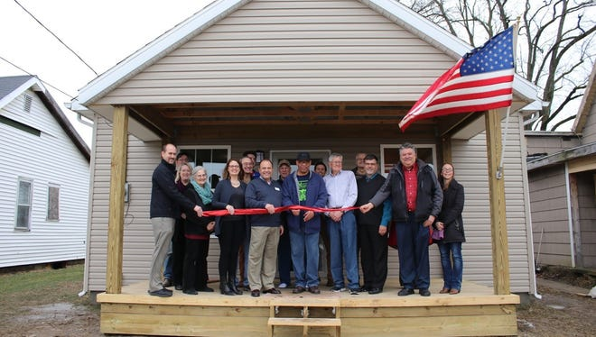 Muncie Mission opened the first house of its transitional housing program on Jan. 10.