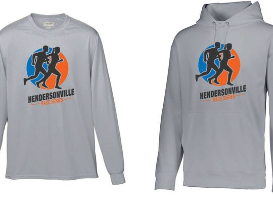 Members of the Hendersonville Race Series who participate in three of the races get a shirt, and all four races get a hoodie.