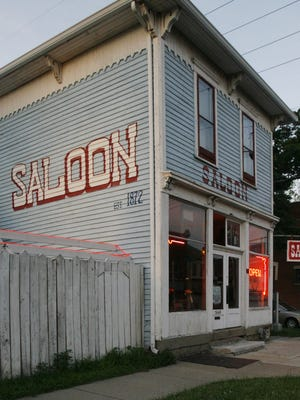 This is a photo from Sam's Saloon in Fountain Square, June 8, 2008.