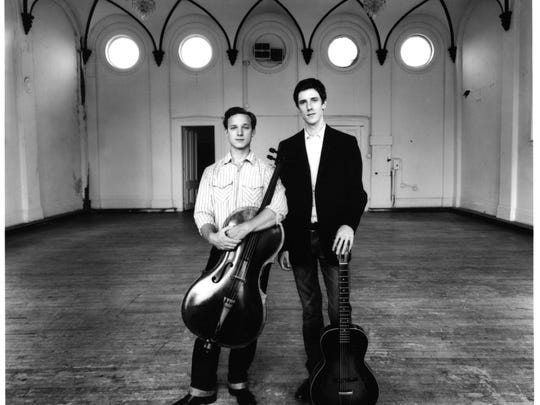Ben Sollee and Daniel Martin Moore will perform at a benefit for the Coalition for the Homeless.