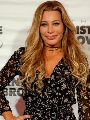 Singer-songwriter Taylor Dayne poses on the red carpet at The Barnstable-Brown Gala Derby Eve. May 05, 2017