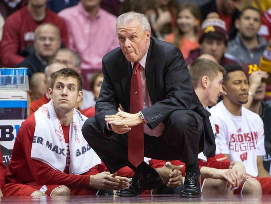 Bo Ryan has coached Wisconsin to the NCAA tournament