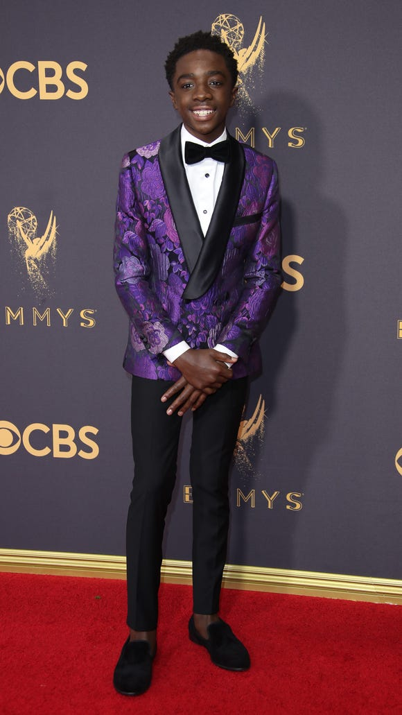 Caleb McLaughlin exudes style beyond his 15 years.