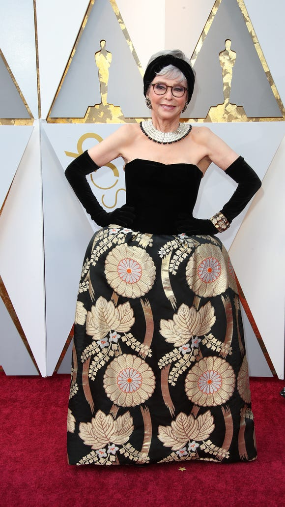 Rita Moreno previously wore this look in 1962.