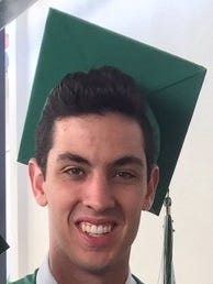 Ryan Abele, a UNR freshman and De La Salle high school graduate was injured at the Sigma Nu fraternity house on Sunday, Oct. 16, 2016.