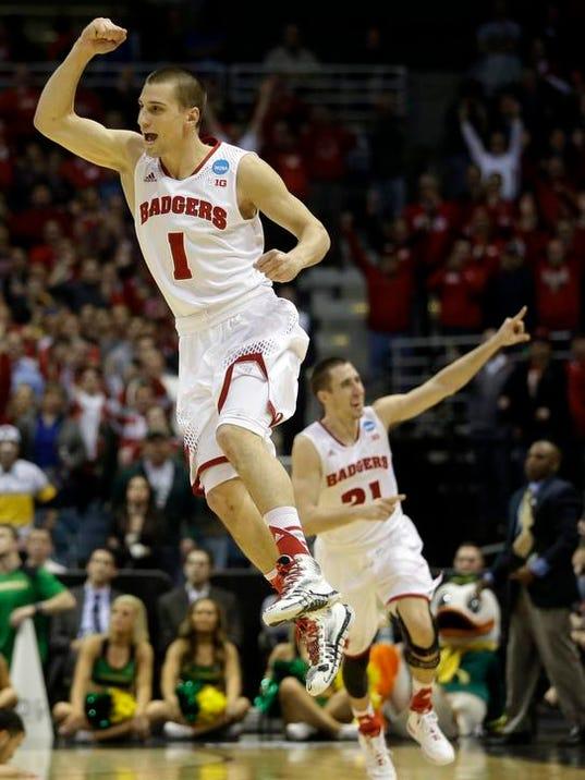 APTOPIX NCAA Oregon Wisconsin Basketball