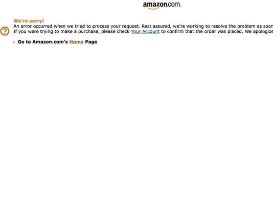 Amazon_error_message