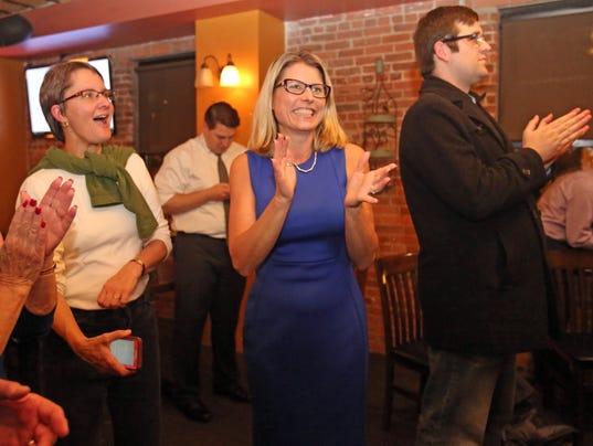 Democrat Election night