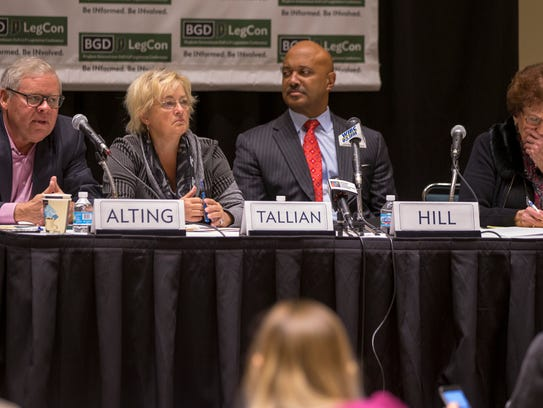 A panel meets to talk about alcohol and marijuana at