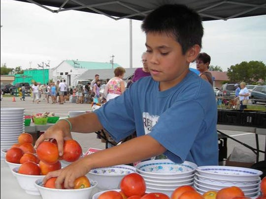 There are many activities right at our fingertips here in the Cape Coral including the downtown farmers market.