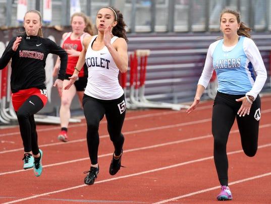Nicolet Brookfield Central Girls Track