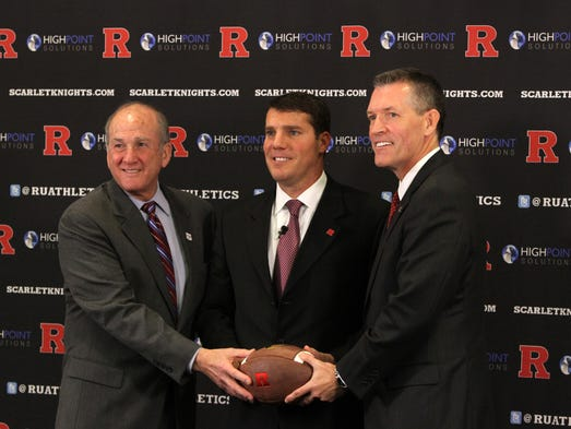 Since being hired by Rutgers president Robert Barchi