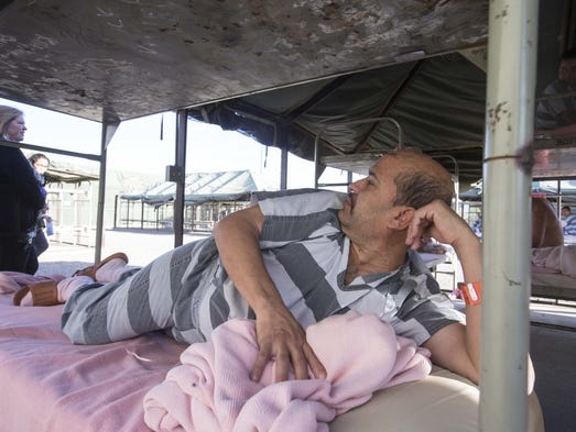 Tent City, infamous home of inmates who wear pink underwear, is ...