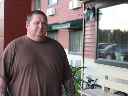 Jody Bressett lost his home on the Bad River Reservation