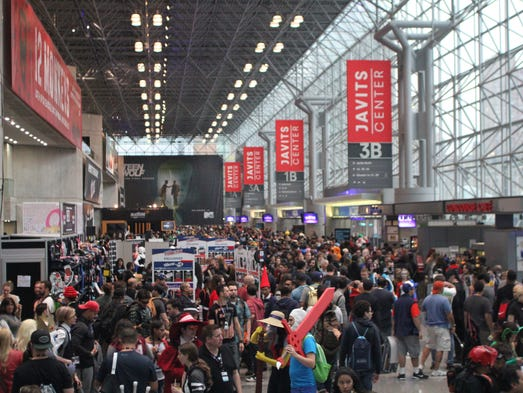 Thousands of people attend New York Comic Con, Oct.