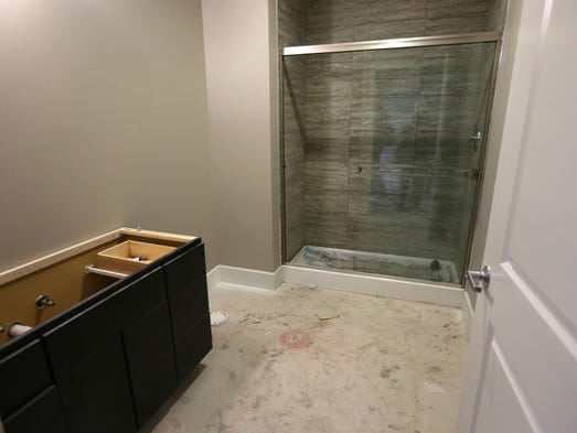 Developer heer 39 s 70 percent done ready for residents in for Bathroom 94 percent