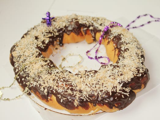 King Cake Cupcakes Baton Rouge