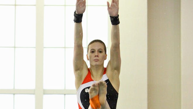 Megan Helwagen was among Clemson divers to compete in a program apart from swimming since the 2011-12 season.