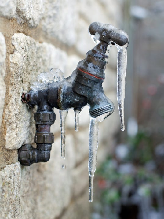 Image result for faucet frozen pipes