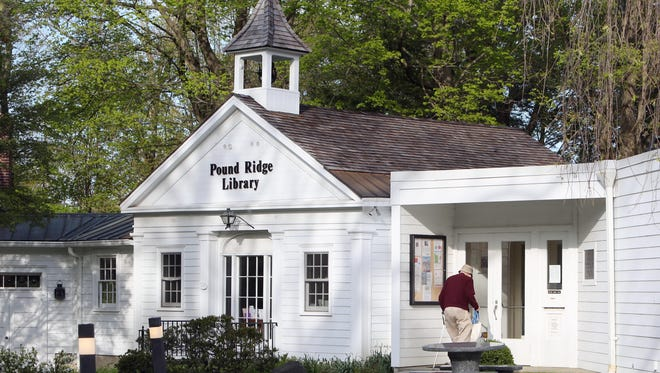 The Pound Ridge Library on Westchester Avenue in Pound Ridge May 12, 2016.