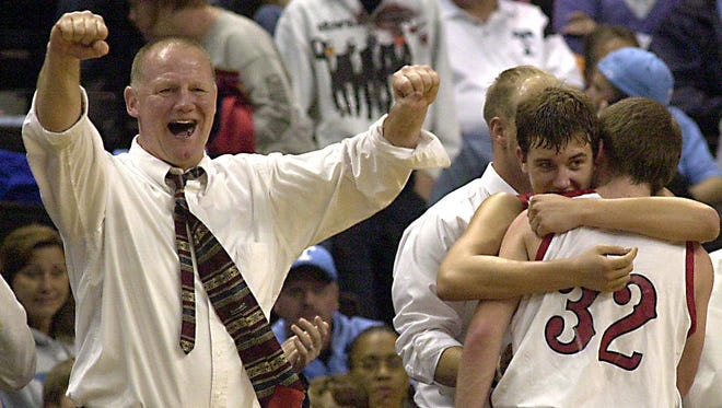 Tommy Johnson and the Pisgah boys basketball team won the 2-A Western Regional championship in 2008.