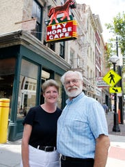 Lori Meeker, left, and Fred Berger, are reopening the