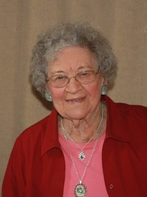 Alice Ruter, 104, is one of Iowa's oldest living former one-room schoolteachers.