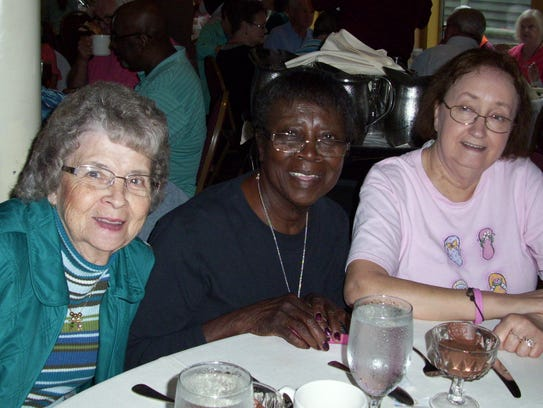 Groups from the JD Lewis Senior Center in Erin take