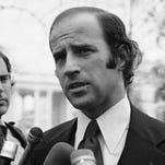 Joe Biden, the newly-elected Democratic Senator from Delaware, is shown in Washington on Dec. 12, 1972.